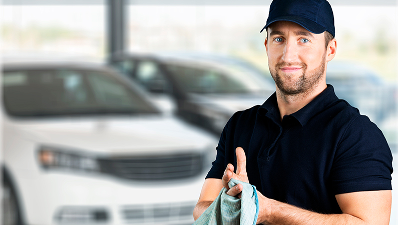 klargøringsmand i bilbranchen